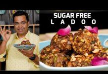 बिना चीनी के लड्डू बनाने की विधि | Sugar Free Ladoo Recipe | Healthy Sweet Recipe By #chefajaychopra
