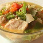 কিটো রেসিপি 2 - চিকেন ভেজিটেবল রান্না   Keto Recipe 2-Chicken vegetables healthy and tasty recipe