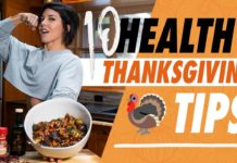 10 TIPS FOR A HEALTHY THANKSGIVING (Plus Recipe!)