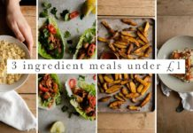 3 Ingredient Vegan Recipes Under £1 ($1.50) | 5 Cheap & Easy Student Recipes