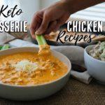 3 Lazy Keto Recipes Using a Rotisserie Chicken   Budget Recipes