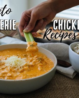 3 Lazy Keto Recipes Using a Rotisserie Chicken | Budget Recipes