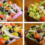 4 Salad Recipes For Weight Loss Vegetarian   Healthy Salad Recipes