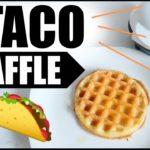 🌮#6 TACO CHAFFLE KETO RECIPE IDEAS 🧀KETO / LOW CARB WAFFLE MAKER HACKS ✅✅✅
