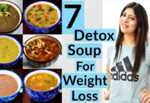 7 Detox Soup For Weight Loss In Hindi |  Detox Diet For PCOS Thyroid |  How To Lose Weight Fast