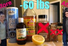 ACV/KETO recipe  to lose weight, clear skin, & amazing gut health| apple cider vinegar