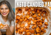 BEST CANDIED YAMS RECIPE! How to Make Keto Candied Yams for a Low Carb Thanksgiving ONLY 2 CARBS