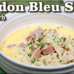 Chicken Cordon Bleu Soup – Low Carb Keto Recipe