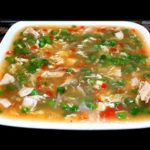 Chicken Vegetable Soup Recipe.How To Make Thai Chicken Vegetable Soup By Maria Ansari♥️