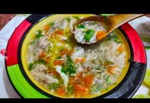Chicken vegetable soup | restaurant jaisa perfect soup |  easy vegetable Chicken soup | soup recipe