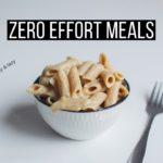 Cozy & Lazy Vegan Meal Ideas!