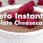 Easy Instant Pot Chocolate Cheesecake - Low Carb Keto Recipe