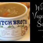 Easy rustic Winter vegetable soup recipe :) Cook with me!