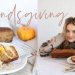 Friendsgiving in L.A. | Healthy Pumpkin Bread Recipe | Come cook with me | Sanne Vloet