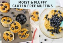 Gluten Free Muffins - NO SUGAR! Super Moist and Delicious!