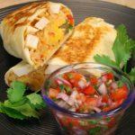 Grilled Chicken Burrito - Healthy Recipe Channel
