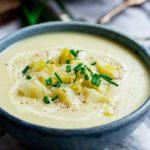 Homemade Creamy Leek and Potato Soup