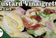 Homemade Mustard Vinaigrette – Mustard Salad Dressing – Low Carb Keto Recipe │ Saucy Sunday