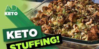 Indulgent Keto Stuffing |  Keto Thanksgiving Recipe | Featuring my Mom!