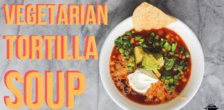 Instant Pot Vegetarian Tortilla Soup | Episode 099