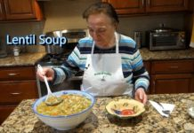 Italian Grandma Makes Lentil Soup