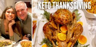 KETO FEAST FOR THANKSGIVING! How to Make the juiciest Keto Turkey for Thanksgiving Dinner