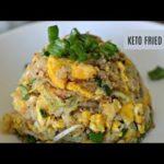 Keto Egg Fried Rice | Cauliflower Fried Rice | Low Carb Rice | Keto Recipes