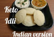 Keto Idli Indian Version / LCHF recipe