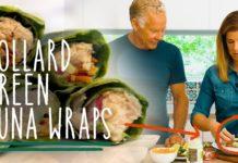 Keto Recipe - Collard Green Tuna Wraps