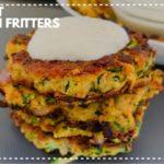 Keto Recipe   Low Carbs Snacks   Zucchini Fritters