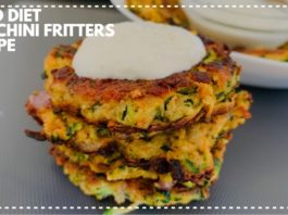 Keto Recipe | Low Carbs Snacks | Zucchini Fritters