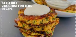 Keto Recipe | Low Carbs Snacks | Zucchini Fritters
