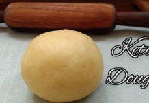 Keto Recipe - Non Sticky BEST Keto Dough   How to Make FATHEAD DOUGH   Keto Pizza Dough Recipe