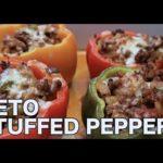 Keto Stuffed Peppers Recipe   Keto Daily