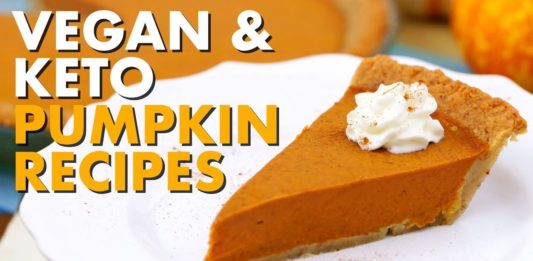 Keto Vegan Pumpkin Pie, Pumpkin Cheesecake & More Recipes!