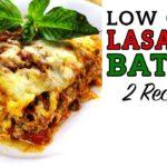 Low Carb LASAGNA BATTLE - The BEST Keto Lasagna Recipe!