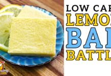 Low Carb LEMON BAR Battle 🍋 The BEST Keto Lemon Bars Recipe!