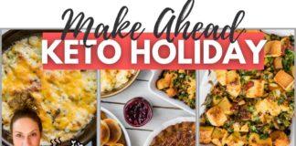 MAKE AHEAD KETO THANKSGIVING RECIPES | What's For Keto Dinner