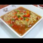 Maggi Noodles Soup  Recipe || ম্যাগি নডুলস সুপ || Noodles Soup recipe Bangladeshi Maggi Noodle Soup