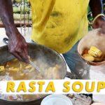 🇯🇲 Making Rasta Vegan Soup in the Blue Mountains | Jamaica Vlog