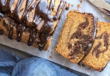 Marble Cake (Dairy Free, Gluten Free, Refined Sugar-Free)