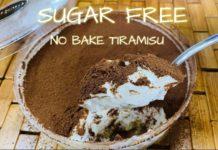 NO BAKE SUGAR FREE TIRAMISU | KETO AND LOW CARB DIET