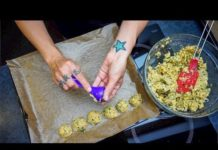 OIL-FREE BAKED FALAFEL / Simple Vegan Recipe