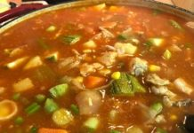 OLD SCHOOL HEARTY CHICKEN AND VEGETABLE SOUP(MADE FROM MY IMPERFECT FOODS BOX /LESS THAN 10$)