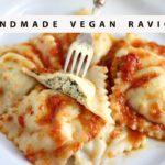 PASTA DIARIES// Vegan Ricotta Ravioli Recipe
