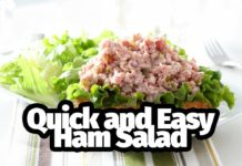 Quick and Easy Ham Salad Recipe