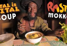 "RASTA MOKKO'S  ""Ital is VITAL"" Soup!  Straight from Jamaica!"