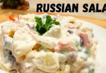 Russian Salad Recipe  |  Healthy and Easy  Salad  Recipe
