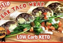 Steak Taco Wrap | Low Carb KETO Recipe | Tri-Tip Steak Tacos | Everyday BBQ