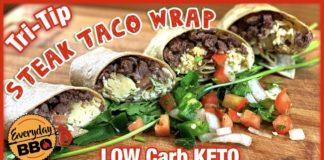 Steak Taco Wrap   Low Carb KETO Recipe   Tri-Tip Steak Tacos   Everyday BBQ